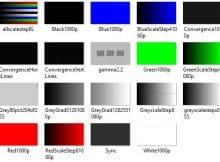 Проверка на битые пиксели через просмотр контрастных изображений