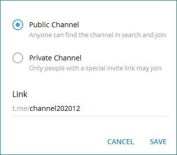 Как сделать ссылку на канал в Telegram